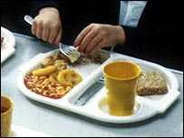 英国公立学校の給食