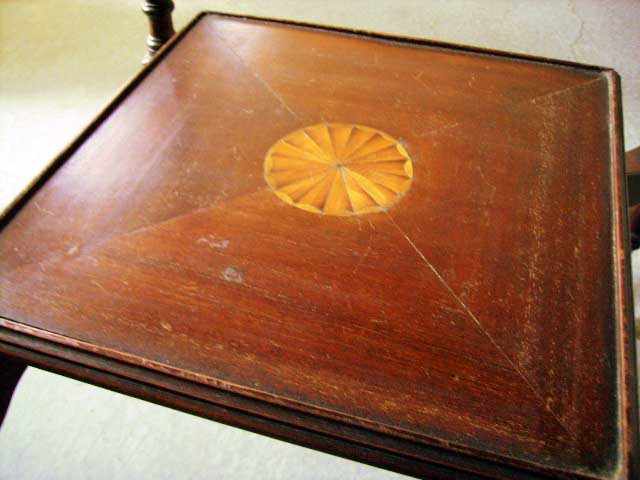 ホールテーブル アンティーク テーブル・ダイニングセット