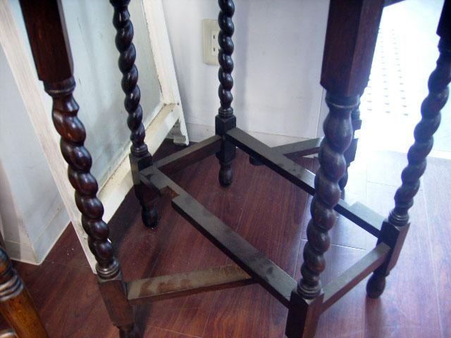 ゲートレッグ テーブル 小 アンティーク テーブル・ダイニングセット