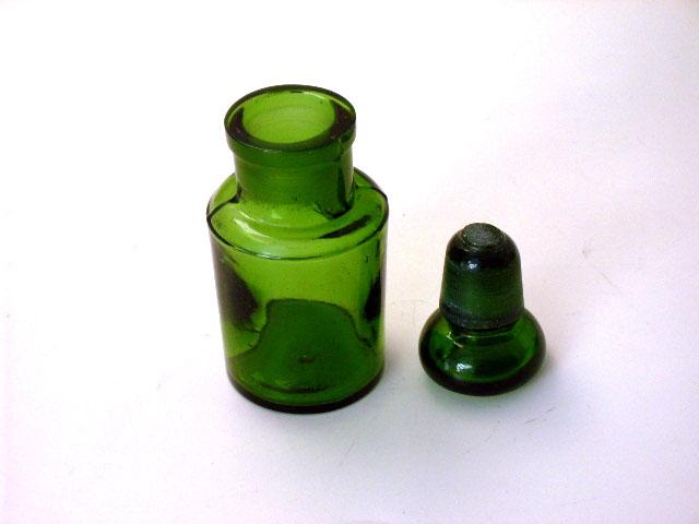 グリーン ボトル アンティーク グリーン・ブルー系