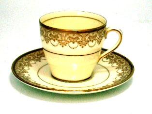 ロイヤルドルトン(Royal Doulton) カップ&ソーサ デミ 6客セット アンティーク 食器 カップ&ソーサー他
