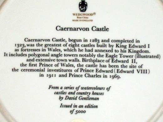 ウェッジウッド(Wedgewood) プレート Watercolours of Castles… アンティーク 飾り用プレート