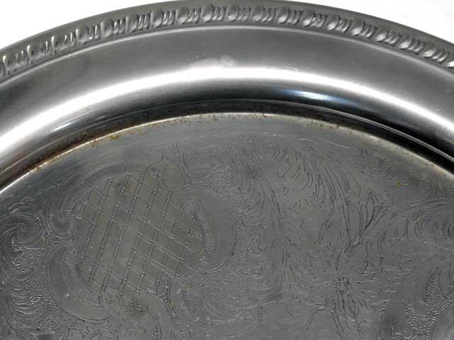 トレー シルバープレート アンティーク 銀・銅製品ほか
