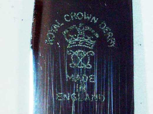 ロイヤルクラウンダービー(Royal Crown Derby)  ナイフ セット箱入り 未使用 アンティーク カトラリー