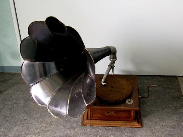 蓄音機 His Master's Voice アンティーク 機械もの