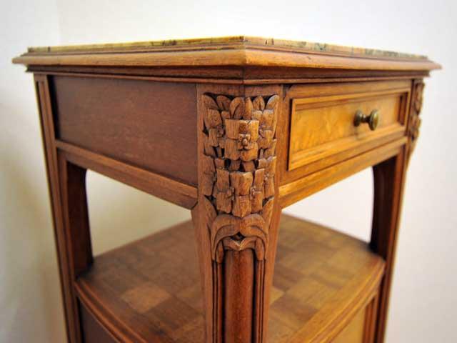 ワードローブ&ベットサイドテーブル&ベッド セット商品 アンティーク サイドボード・チェスト・ドレッサー