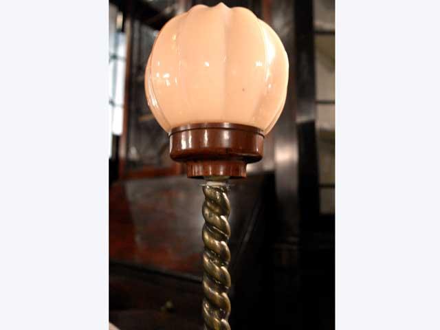 ランプ&スタンド ベークライト アンティーク ランプ(すでに組み合わせられている照明)