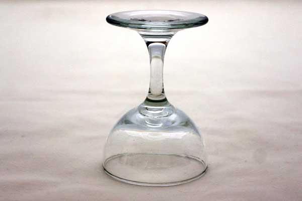 ワイングラス 6点セット(透明) アンティーク クリアー系