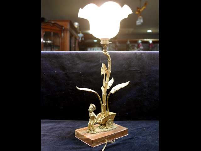 エンジェル ランプ・スタンド アンティーク ランプ用ブラケット(テーブル・ウォール用等)
