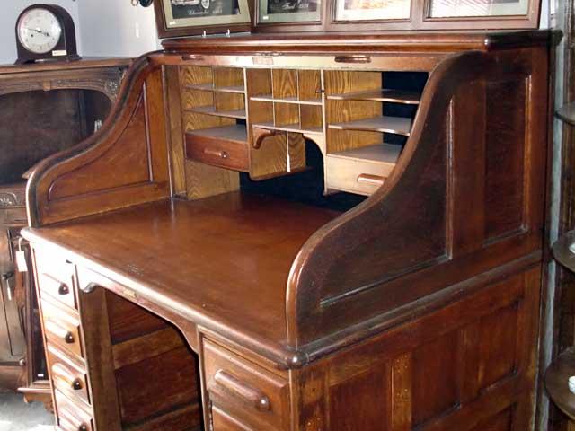 ダービーデスク(Derby Desk) ロールトップデスク アンティーク デスク・ビューロー