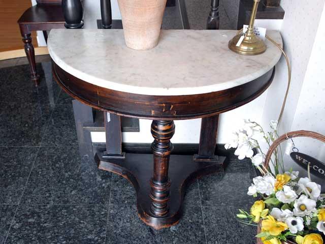 ホールスタンド(小) 半円 アンティーク テーブル・ダイニングセット