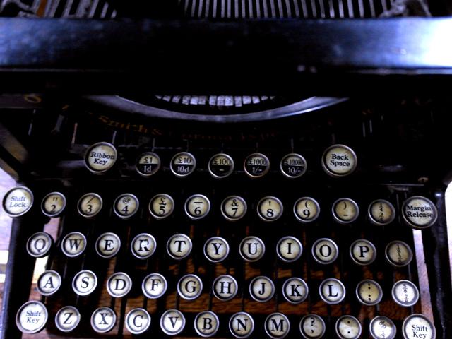 L C SMITH&CORONA タイプライター アンティーク 機械もの