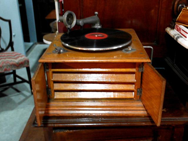 蓄音機 アンティーク 機械もの