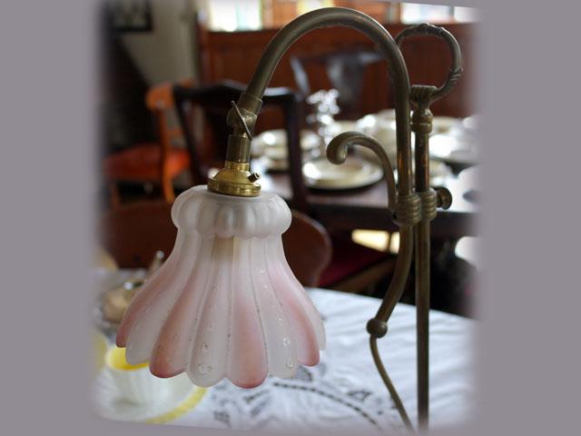スタンドランプ 真鍮 アンティーク ランプ用ブラケット(テーブル・ウォール用等)