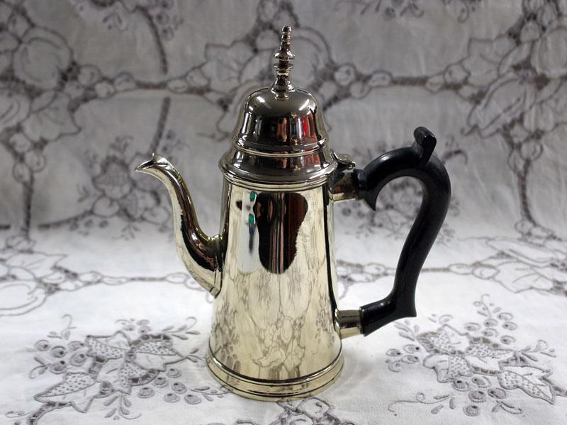 コーヒーポット シルバープレート アンティーク 銀・銅製品ほか