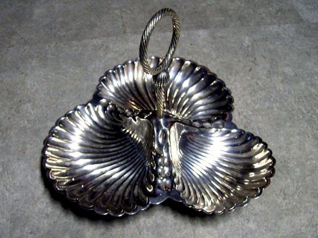 シルバープレート シェル アンティーク 銀・銅製品ほか