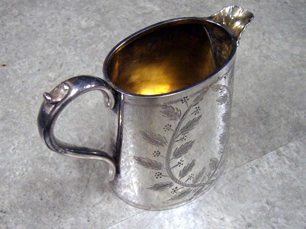 シルバープレート ティーポット&コーヒーポット&シュガーポット&ミルクジャグ セット商品 アンティーク 銀・銅製品ほか