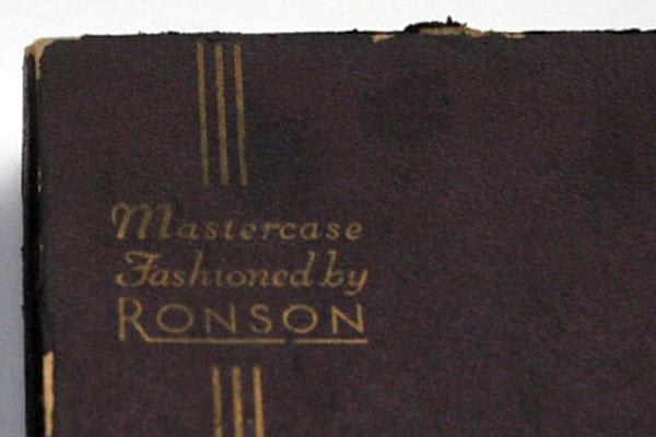 ロンソン(Ronson) ライター アンティーク ライター