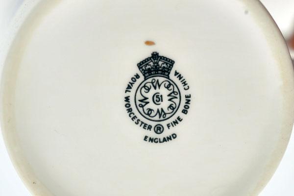 ロイヤルウースター(Royal Worceter) カップ&ソーサー6脚セット 箱入り 未使用 アンティーク 食器 カップ&ソーサー他