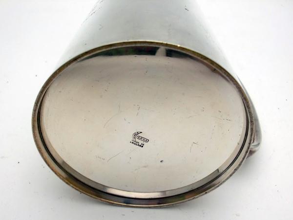 シルバープレート ビアマグ 1954年 アンティーク 銀・銅製品ほか