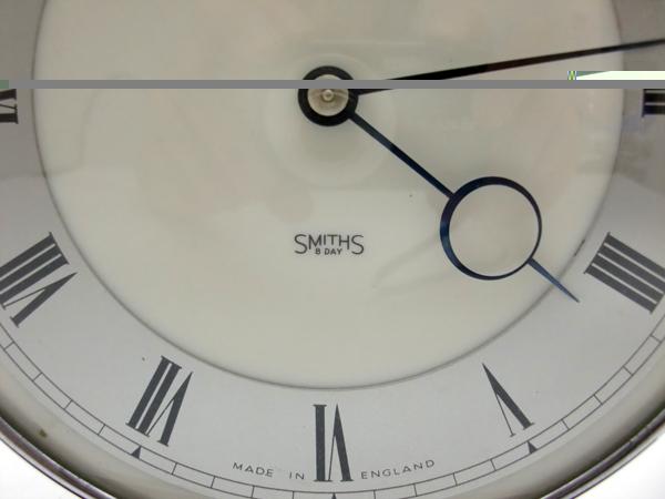 Smith 手巻き置時計 アンティーク 時計