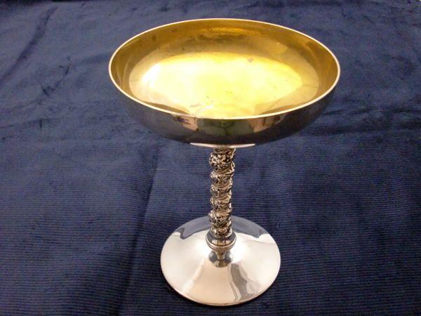 シルバー シャンパンゴブレット アンティーク 銀・銅製品ほか