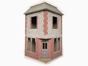 ドールハウス用外壁材 2色1