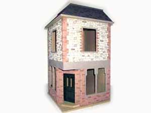 ドールハウス用外壁材 2色2