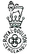 ロイヤルドルトン バックスタンプ1902-1956-2