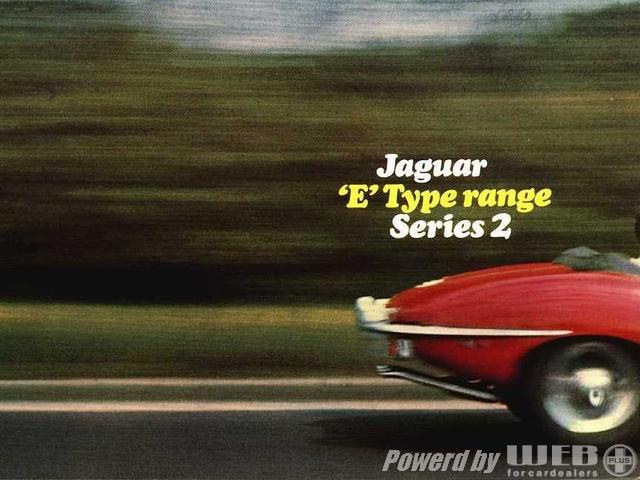 ジャガー Eタイプ シリーズ2