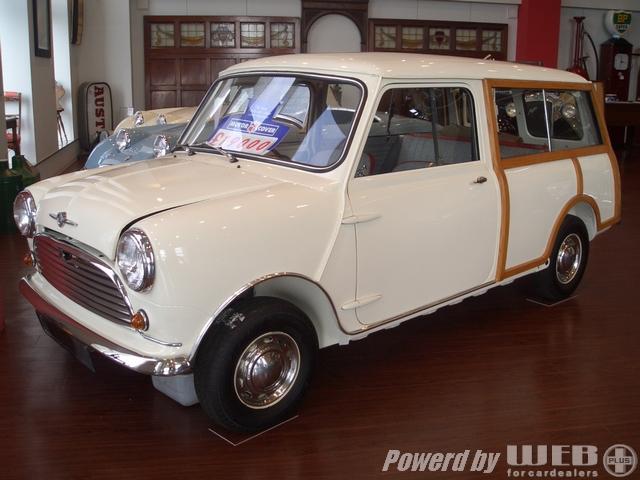Morris MINI Mk1 Mk-1 Traveller Old English White モーリス ミニ マーク1 トラベラー オールド イングリッシュ ホワイト