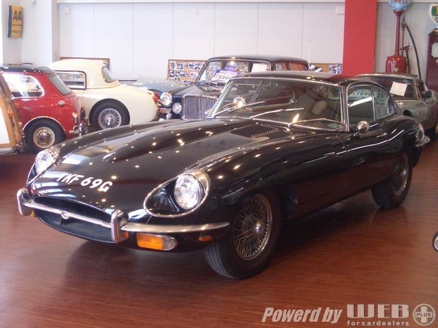 Jaguar E Series2 Black ジャガー