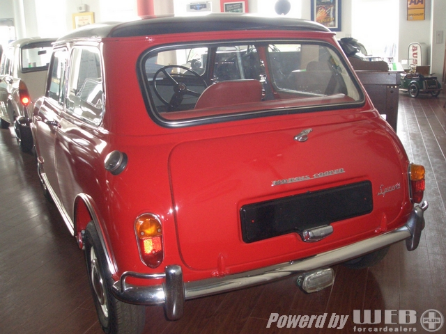 MINI Cooper S Sprint Red ミニ クーパーS スプリント レッド