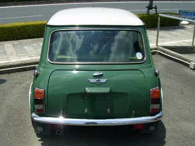 Rover MINI Cooper ローバー ミニ クーパー アーモンドグリーン