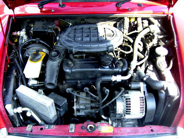 Rover MINI ローバー ミニ ソーラーレッド 1.3i MT