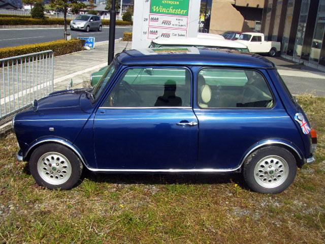 Rover MINI ローバー ミニ タヒチブルー 1.3i AT
