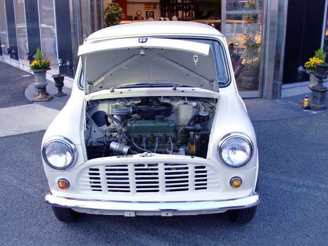 Rover MINI Pickup Old English White ローバー ミニ ピックアップ オールド イングリッシュ ホワイト