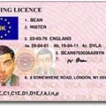 英国の自動車運転免許証・新式
