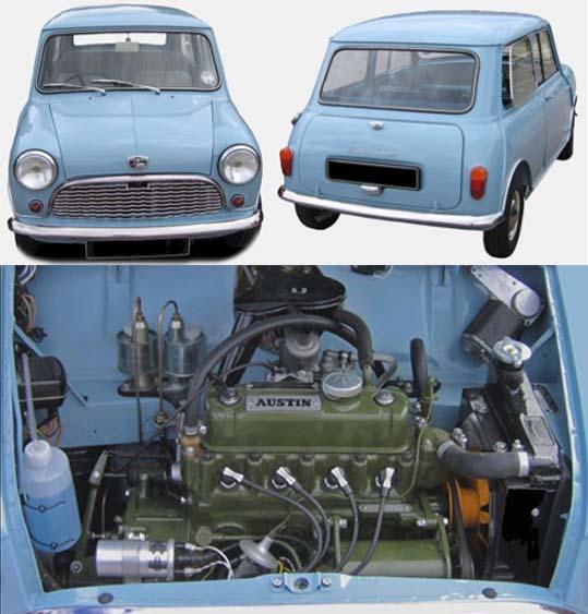 ミニ Mk1 オースチン セブン モーリスマイナー 850cc サルーン