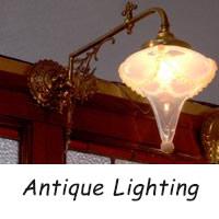 アンティーク 照明