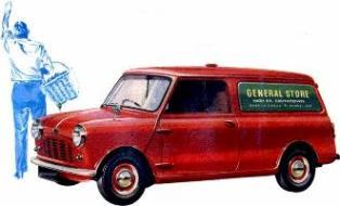 ミニ バン 850cc (1960~1980)