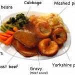 イギリスの話 サンデー・ディナー