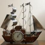 時計 ヨット 電気付