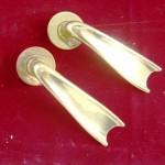 ドアハンドル 真鍮 ペア(2)