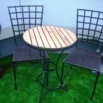 ガーデン テーブル&チェアー2脚セット
