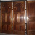 ドア マホガニー 3枚セット