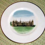 ウェッジウッド(Wedgewood) プレート Watercolours of castle and country houses by David Gentleman」シリーズ(Burghley House)