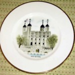 ウェッジウッド(Wedgewood) プレート 「Watercolours of castle and country houses by David Gentleman」シリーズ(The Tower of London)