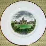 ウェッジウッド(Wedgewood) プレート 「Watercolours of castle and country houses by David Gentleman」