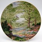 ロイヤルドルトン(Royal Doulton) 飾り皿 Elizabeth Gray